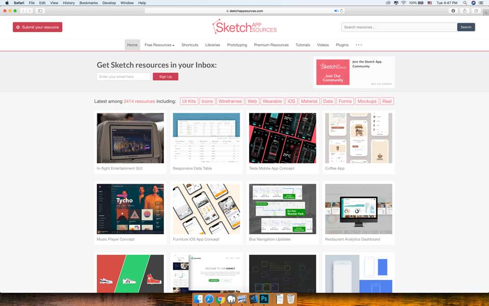 Sketch App Resources